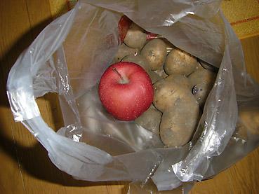 ジャガイモの芽が出ないように保存する裏技