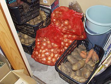 ジャガイモの保管方法